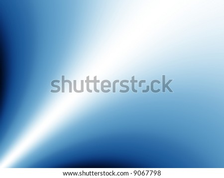Blue gradient plume background