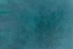 Blue-green grungy backdrop or texture