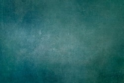 Blue-green grungy background or texture