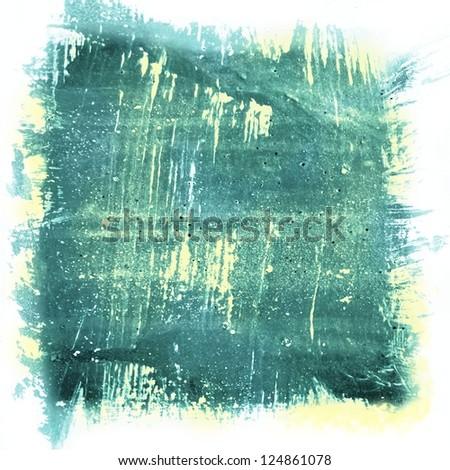 blue / green texture grunge illustration