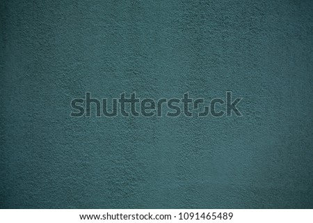 Blue-green wall - texture of plaster