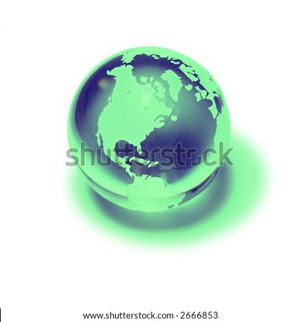 Blue-green world - marketing & logo ideas