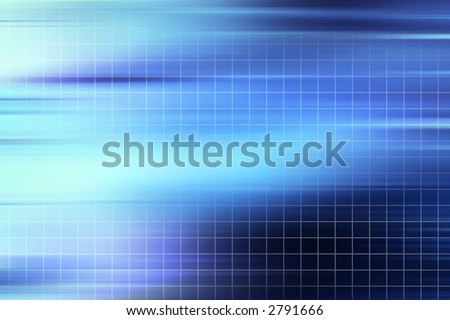 blue grid abstract background