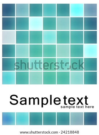 Blue Grid, modern design concept with space for your text
