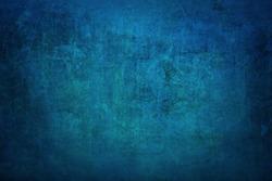 Blue Grunge Concrete Wall Texture Background. blue abstract grunge textures wall background.