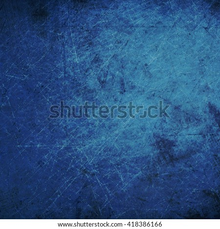 Blue Grunge scratched surface background. Grungy Texture. #418386166