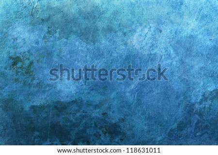 Blue grunge surface, background image