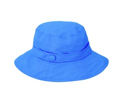 Blue hat isolated on a white background