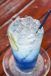 Blue Hawaii, Italian soda