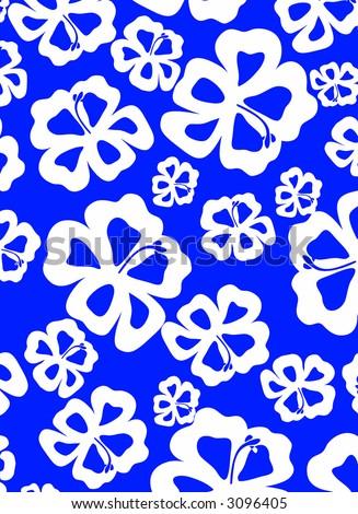 hawaiian flowers cartoon. hawaiian flowers cartoon.