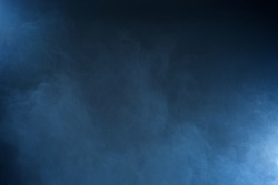 Blue hazy background texture.