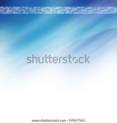 blue high-tech background with digits 101001 repeating