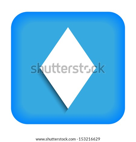 Blue icon with the image of rustrakehner color diamonds ace