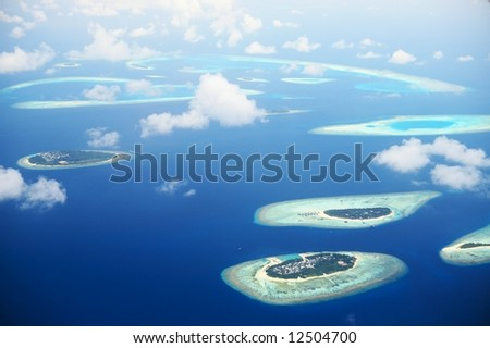 Blue Infinity (atolls of Maldives)