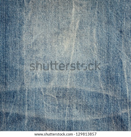Blue jeans texture, high resolution