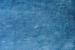 Blue jeans textured, fabric of blue jeans ,Blue background