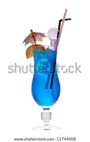 blue lagoon cocktail (rom, liqueur, lemon fresh )