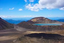 Blue Lake at Tongariro crossing