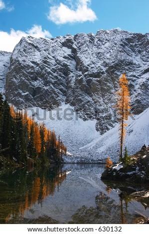 Blue Lake, North Cascades, Washington State