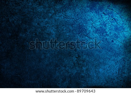Blue large grunge textures and backgrounds