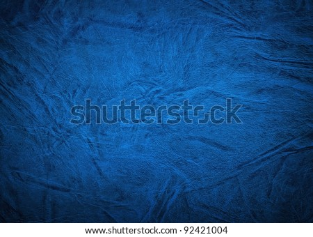 blue leather background #92421004