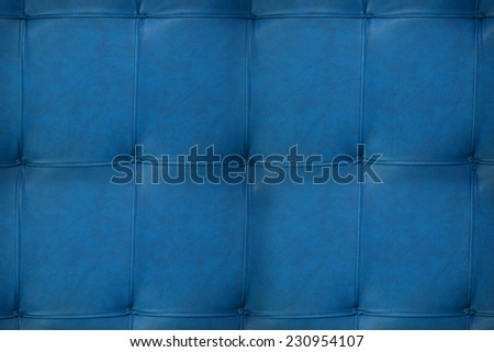 blue leather texture design of furniture