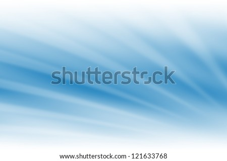 Blue Light Abstract Background