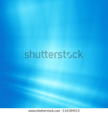 Blue light sky abstract tech background