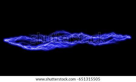 blue lightening background illustration #651315505