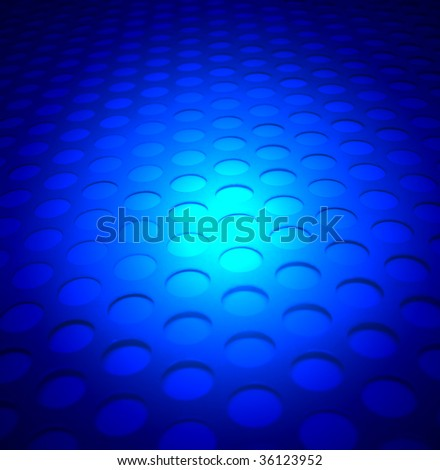 blue lighting metal background
