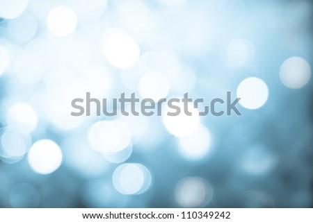 Blue lights background