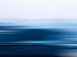 Blue linear motion effect abstract background illustration. Abstracts  coast.