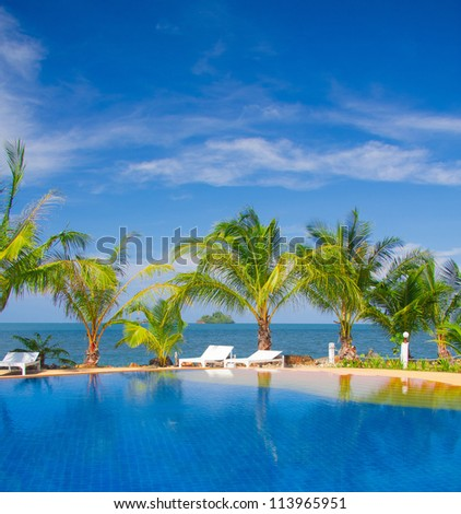 Blue Luxury Holiday Lifestyle #113965951