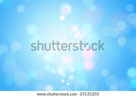 Blue magic background