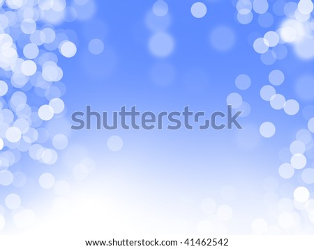 Blue magic background