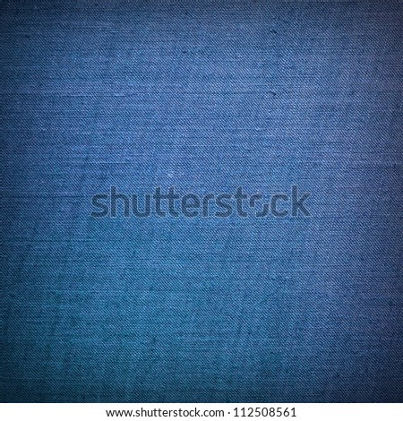 Blue material texture or background
