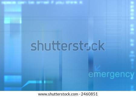 Blue Medical abstract background.