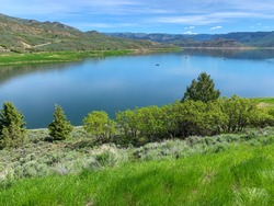 Blue Mesa Reservoir on the Gunnison River, Gunnison, Colorado