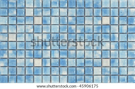 blue mosaic pattern background