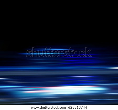 Blue motion blur abstract background. #628313744