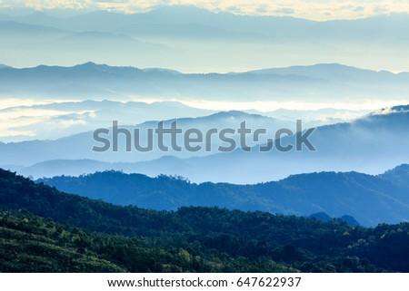 blue mountain #647622937