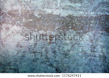 Blue Navy Blue Dark Abstract Background Grunge Decorative Stucco Wall of Art Rough. Texture Banner With Space Text. #1176247411