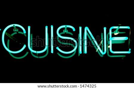Neon Cuisine