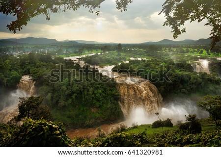Blue Nile Falls, Ethiopia, Africa #641320981
