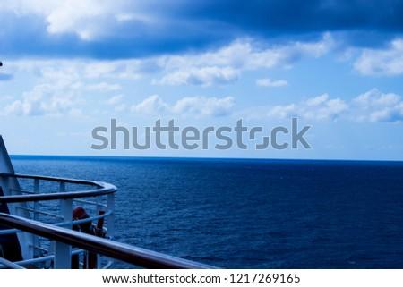 blue ocean blue sea #1217269165