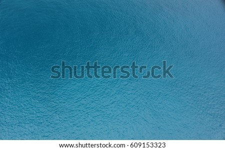 Blue ocean surface