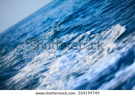 blue ocean wave background, Andaman Sea, Thailand