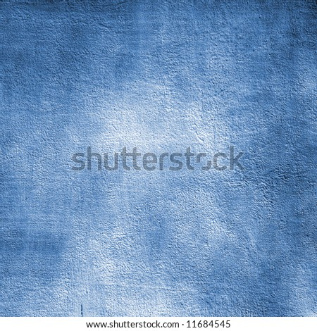 Blue pained cement wall:can be used as background