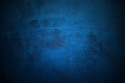 Blue paint metal plate texture and background