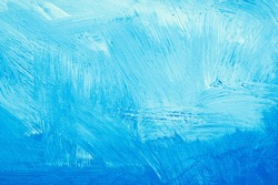 Blue paint on a stone surface, as a background